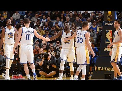 Golden State Warriors Best Play Highlights | 16/17 Season | First 41 Games