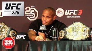 Daniel Cormier UFC 226 Post Fight Press Conference