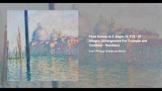 Flute Sonata in C major, H. 515