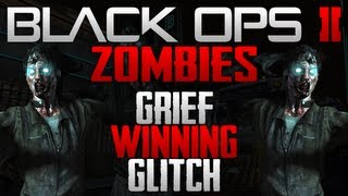 Black Ops 2 Zombies Grief Winning Glitch - Win Every Time on Grief Mode Online - Boosting [TUTORIAL]