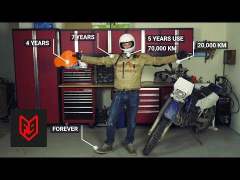 Wanneer moet je je helm vervangen?
