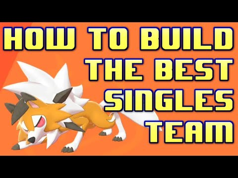 How to Build the BEST Singles Team Building Guide! Pokemon Sword and Shield Competitive Crown Tundra