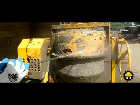 Mantenimiento preventivo de mezcladora de concreto