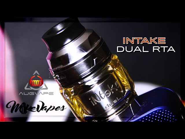 THE INTAKE DUAL RTA BY AUGVAPE & MIKE VAPES