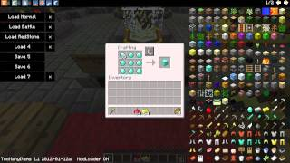 Auto Distribute Mod! Easy diamond blocks! Minecraft 1.1