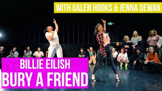 BILLIE EILISH - BURY A FRIEND | Jenna Dewan Dance