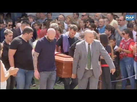 العرب اليوم - شاهد:الأرجنتينيون يودّعون جثمان اللاعب إيميليانو سالا إلى مثواه الأخير