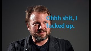 Rian personally insults a Star Wars fan || Rian Johnson fucked up