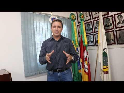 Homenagem do Presidente da Câmara de Vereadores Diogo Tomás Lasch