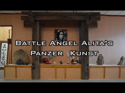 Battle Angel Alita's Supernatural Martial Arts of Panzer Kunst?