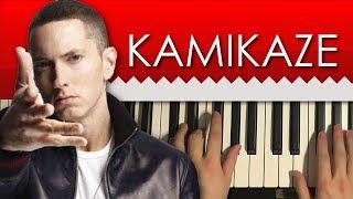 HOW TO PLAY - Eminem - Kamikaze (Piano Tutorial Lesson)