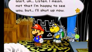 Chapter 2 - Partner Dialogue Differences - Paper Mario (GCN)