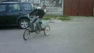 Tricicleta Pegas Cu Motor De RIGA   FagarasRiders