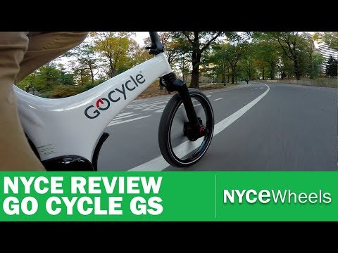 Go Cycle GS Electric BIke Review – Stowable E-Bike