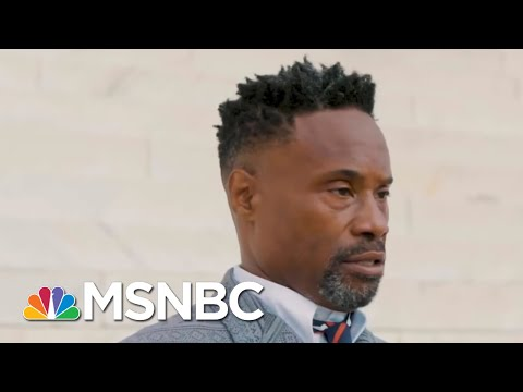 As Trump Is Busted For 2020 Plot, Billy Porter Pushes Voting Rights, Previews DNC Appearance | MSNBC