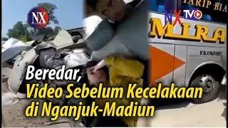 Beredar, Video Sebelum Kecelakaan di Nganjuk-Madiun