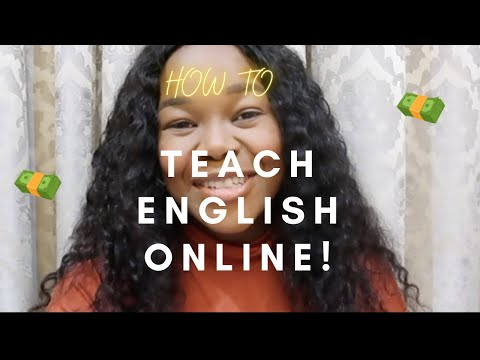 How to make money by Teaching English Online!