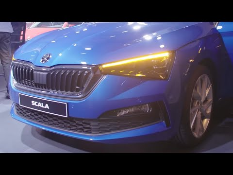 2019 Skoda Scala Hatchback First Walkaround Autotrend Tv