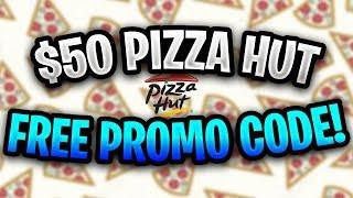 Free Pizza Hut Promo Code 2019 ✅ Free $50 Pizza Hut Voucher! ✅ Pizza Hut Coupon Code
