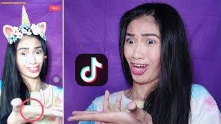 gumawa ako ng TIK TOK account!