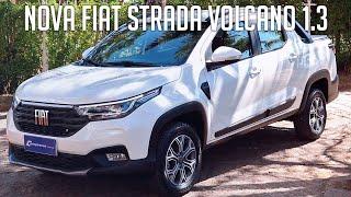 Avaliação: Nova Fiat Strada Volcano 1.3
