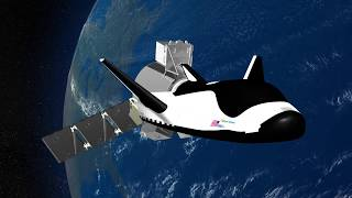 Watch Dream Chaser Space Plane Launch Atop Vulcan Rocket in Animation