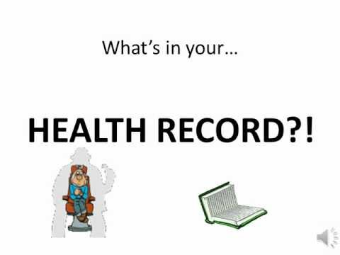 Animated Health Record PSA