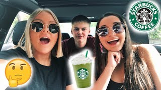 Trying the ACE FAMILY'S Favorite Starbucks Drink!!!