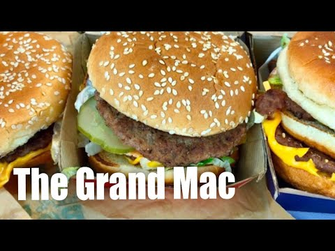 Comparing McDonald's new Grand Mac and Mac Jr to the Big Mac