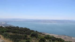 preview picture of video 'The Peace Vista at Kfar Haruv,  Golan Heights on the edge of the cliffs. Tour Guide: Zahi Shaked'