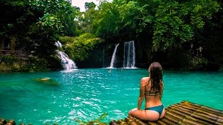 MOST BEAUTIFUL WATERFALLS IN THE WORLD - KAWASAN FALLS AND BADIAN CANYONEERING - CEBU, PHILIPPINES