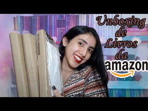 ?UNBOXING?| ??Livros da Amazon?? | Leticia Ferfer | Livro Livro Meu
