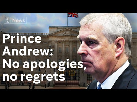 Prince Andrew Interview: No apologies, no regrets