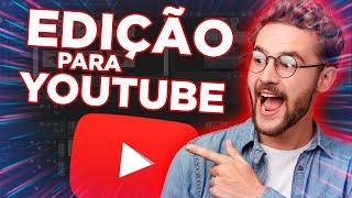 Eu vou editar seu vídeo para youtube + Thumbnail