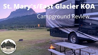 Saint Mary Campground, Glacier National Park, Glacier National Park