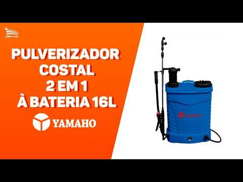 Pulverizador Costal 2 em 1 à Bateria 16L - Video