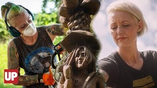 Chainsaw Carver Extraordinaire, Griffon Ramsey | HUMAN