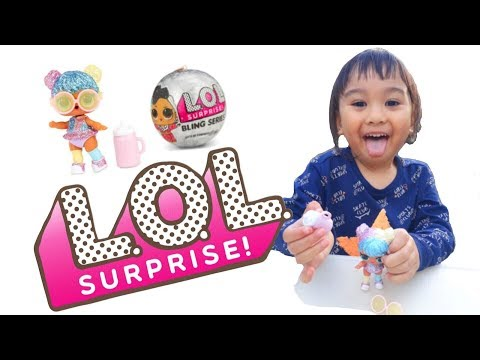 Funny Unboxing LOL Surprise Dolls Bling Series | Fun story