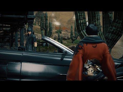 FINAL FANTASY XV Collaboration Trailer de Final Fantasy XIV: A Realm Reborn