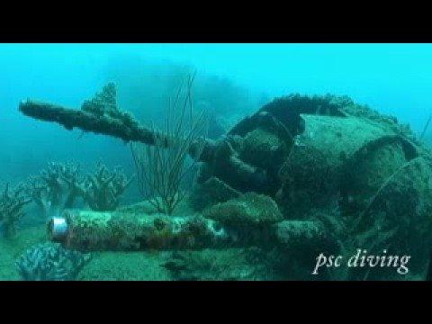Wracktauchen, Madang,Papua-Neuguinea