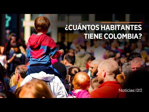 ¿Cuántos habitantes tiene Colombia? Dane revela nueva cifras de población | Noticias RCN