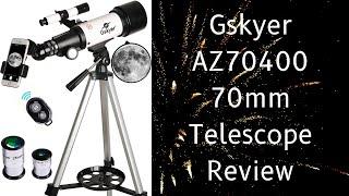 Gskyer AZ70400 70mm Telescope Review   Telescopes For Beginners Kids   Price Under $100   Astronomy