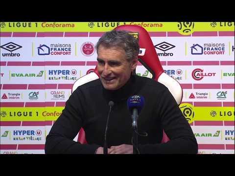 Reims 1 - 0 Brest : la réaction des coaches