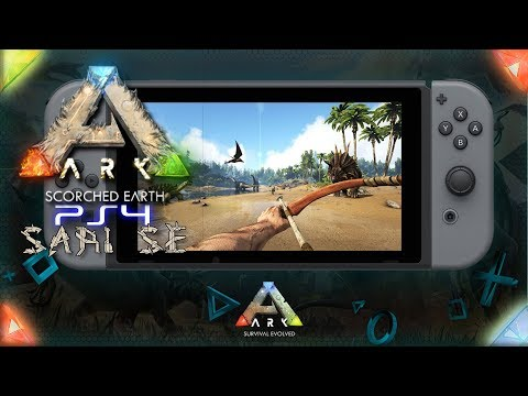 ARK SE PS4 🇩🇪ARK Nintendo Switch? Let´s Play ARK Survival Evolved Playstation 4 Speed PVP
