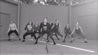 """Somebody's Watching Me"" by Beatfreakz - Dance Fitness Choreography  - ashley jabs"