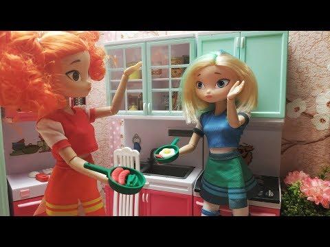 Куклы сказочный патруль поссорились!Кто лучше готовит?Мультик сказочный патруль 5 серия 1 часть.