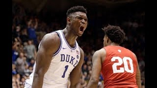 5 Minutes of Zion Williamson DOMINATING College Basketball