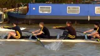 preview picture of video 'Cambridge Lent Bumps 2014 Saturday M1'