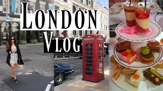 What To Do In London Vlog 2017 - Foodie Edition - MissLizHeart