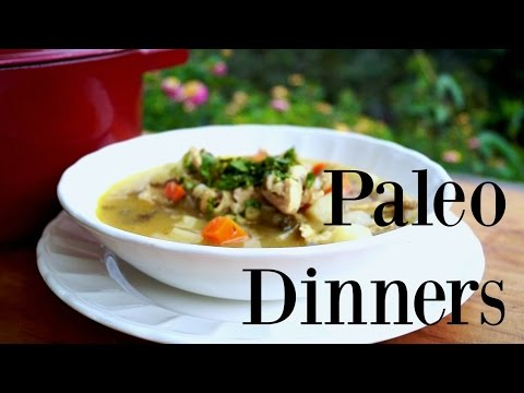 Video 3 Paleo dinner ideas | healthy and easy